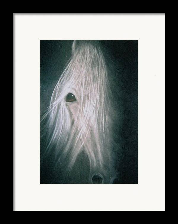 Horse Framed Print featuring the painting If Wishes Were Horses by Diana Cochran