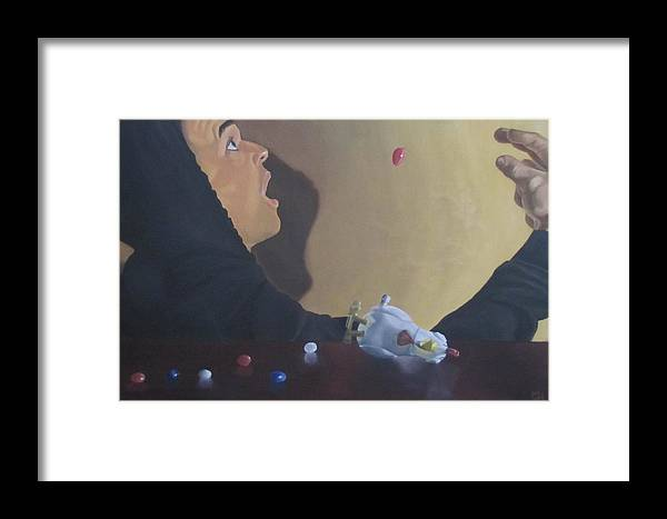 Candy Framed Print featuring the painting Ignorance by Michael Holmes