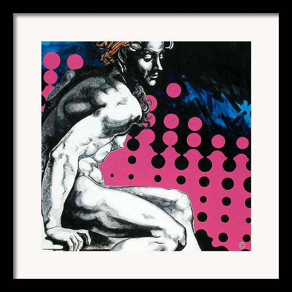 Pop Framed Print featuring the painting Ignudo by Jean Pierre Rousselet
