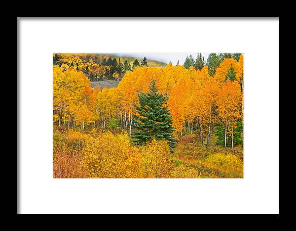 Ohio Pass Framed Print featuring the photograph I'll Never Forget That Day. by Bijan Pirnia