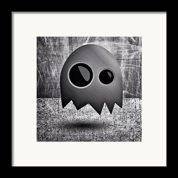 Framed Print featuring the photograph Illustrator Experiment I by Brandon Harris