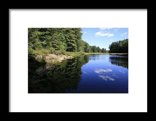 Landscape Framed Print featuring the photograph Image Lost by Alan Rutherford