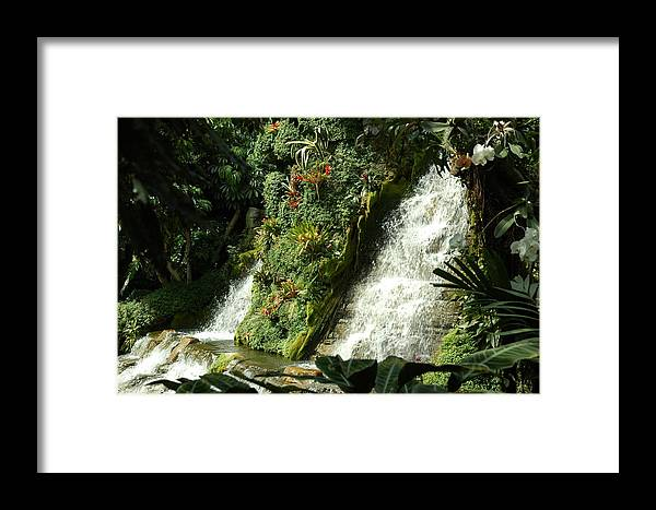 Waterfalls Framed Print featuring the photograph Immense Beauty by Lori Mellen-Pagliaro