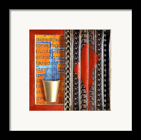 Life Framed Print featuring the mixed media Immortal by Bharat Gothwal