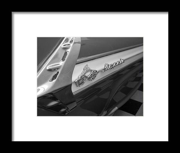 Car Framed Print featuring the photograph Impala by Audrey Venute