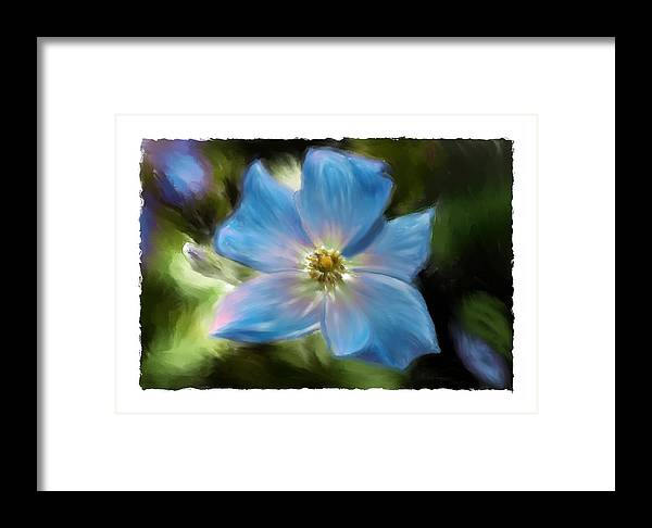 Flower Framed Print featuring the photograph Impatient by Sandy Belk