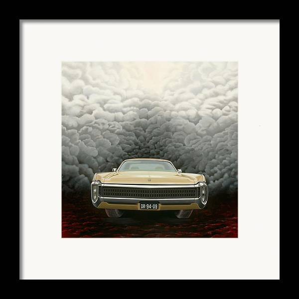 Surreal Framed Print featuring the painting Imperial by Patricia Van Lubeck