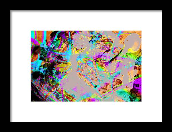 Rino Framed Print featuring the photograph Impetuous by Johnny Aguirre