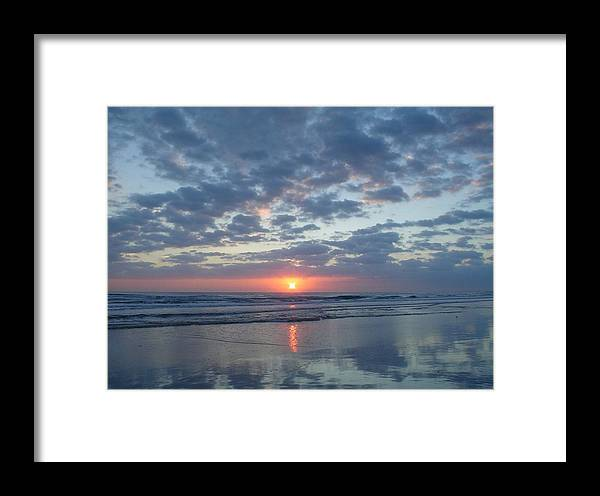 Sunrise Framed Print featuring the photograph Impossibly Glorious by Cheryl Waugh Whitney