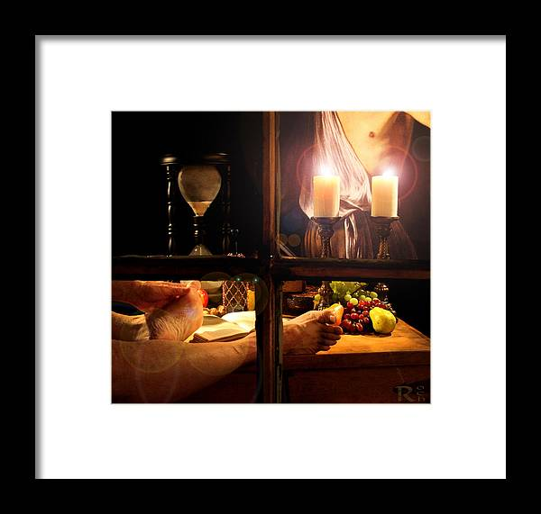 Feet Framed Print featuring the photograph In For The Night by Robert Och