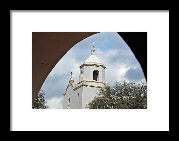 Teresa Blanton Framed Print featuring the photograph In God's Window by Teresa Blanton
