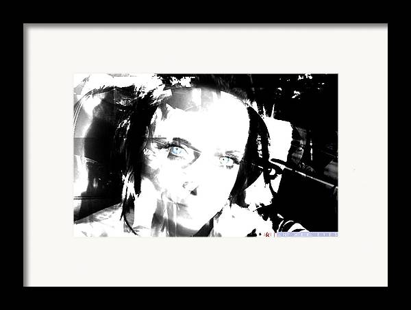 Her Framed Print featuring the photograph In Her Eyes by Jonathan Ellis Keys