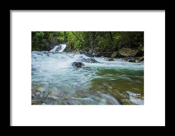 Landscape Framed Print featuring the photograph In Motion by Alfred De Peralta