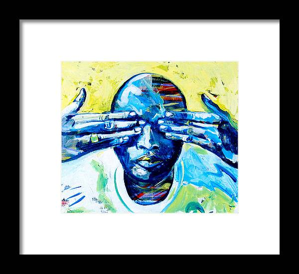 Love Framed Print featuring the painting In My Dreams by Rollin Kocsis