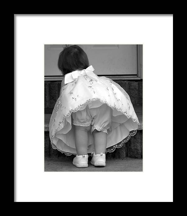 Easter Framed Print featuring the photograph In My Easter Best by Elizabeth Babler