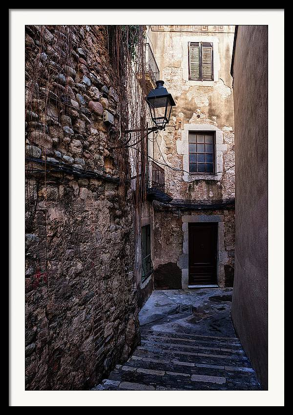 In Old Town Of Girona by Artur Bogacki