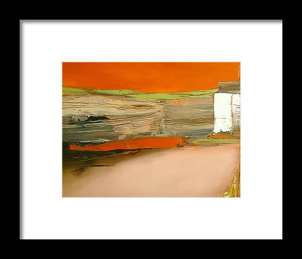 Abstract Framed Print featuring the painting In Search Of The Lost Chord by Stefan Fiedorowicz