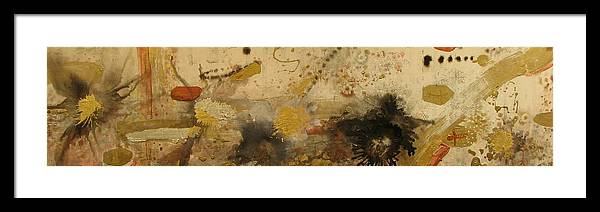 Abstract Framed Print featuring the painting In The Afternoon by Kyle Ethan Fischer