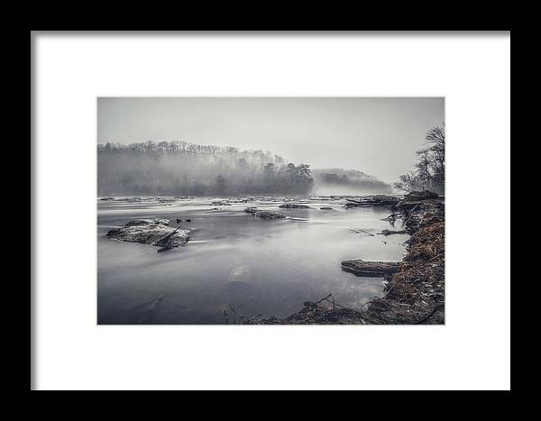 Fog Framed Print featuring the photograph In The Fog by Mike Dunn