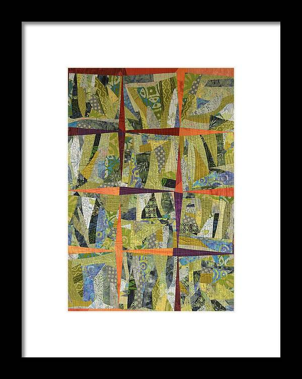Garden Framed Print featuring the mixed media In The Garden by Cindy Heath
