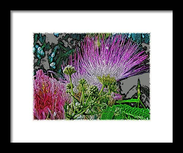 Pink Framed Print featuring the photograph In The Pink by Dee Flouton