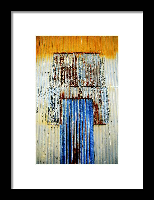 Skip Hunt Framed Print featuring the photograph In Through The Out Door by Skip Hunt