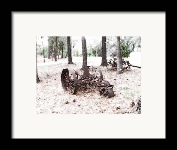 Old Framed Print featuring the photograph In Years Past by Judy Waller