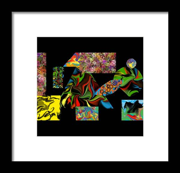 Framed Print featuring the digital art Incubus by Steve Walmsley