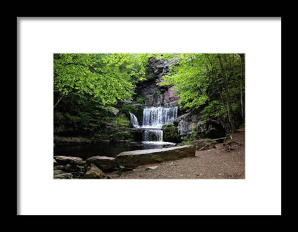 Waterfalls Framed Print featuring the photograph Indian Ladder Falls by Trina Ansel