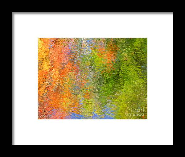 Abstract Framed Print featuring the photograph Otherwise Quiescent by Sybil Staples
