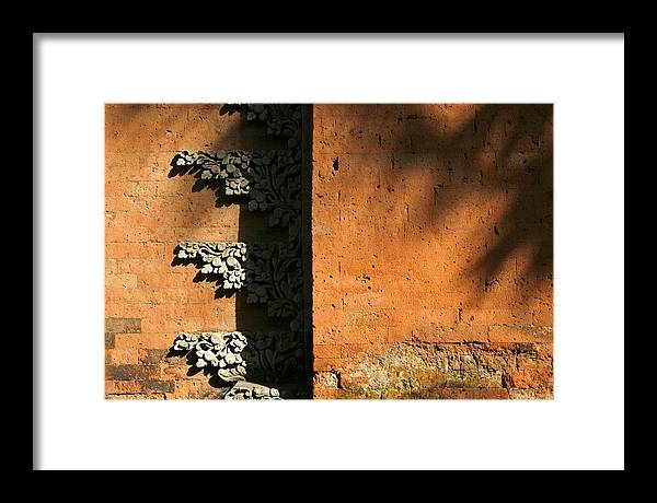 Photo Framed Print featuring the photograph Indonesian Temple by Carmo Correia
