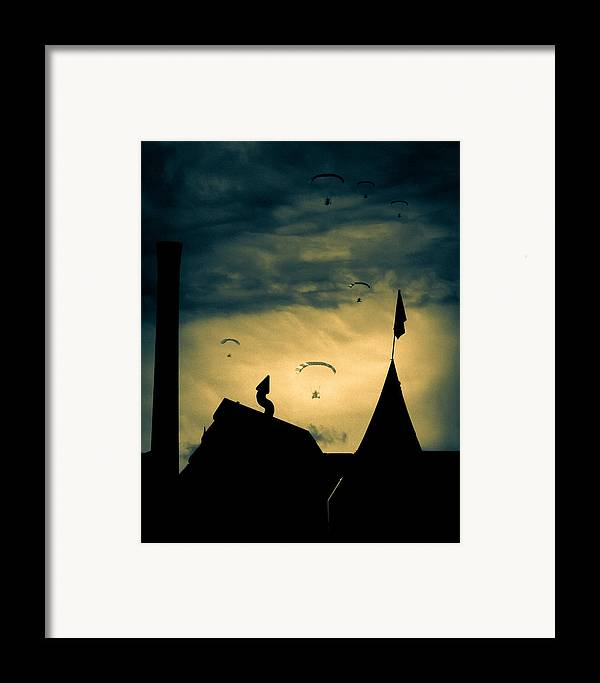 Apocalypse Framed Print featuring the photograph Industrial Carnival by Bob Orsillo