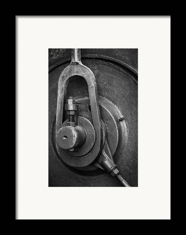 Abandoned Framed Print featuring the photograph Industrial Detail by Carlos Caetano