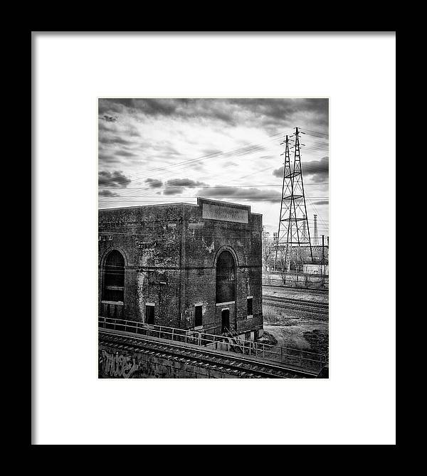 New York City Framed Print featuring the photograph Industrial Wasteland by Paul Shappirio
