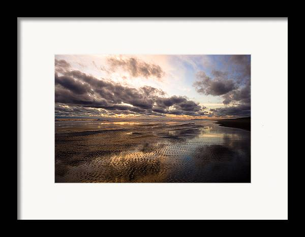 Landscape Framed Print featuring the photograph Infinity by Jennifer Owen