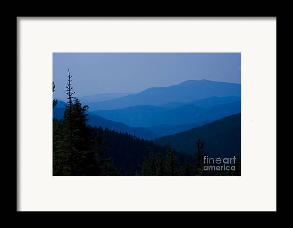 Mountain Framed Print featuring the photograph Infinity by Idaho Scenic Images Linda Lantzy