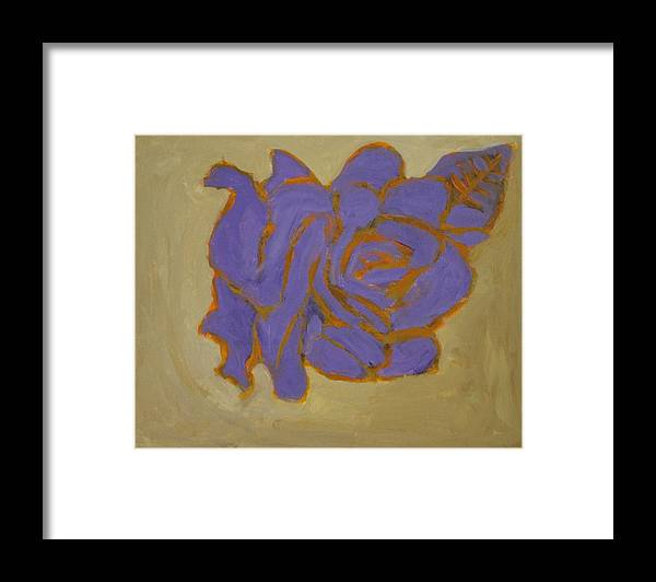 Love Framed Print featuring the painting Inflamed with Love by Sonye Locksmith