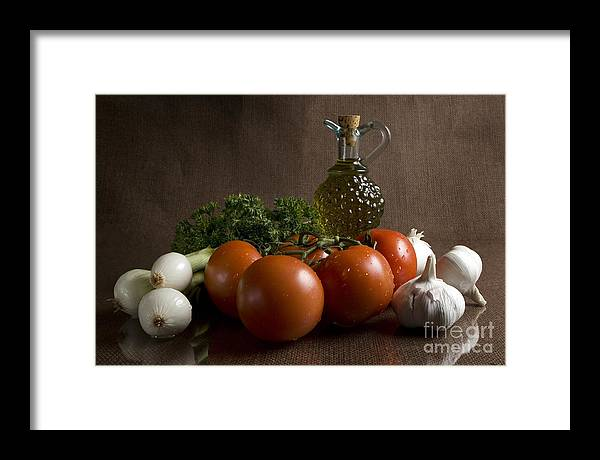Fresh Framed Print featuring the photograph Ingredients by Jeannie Burleson