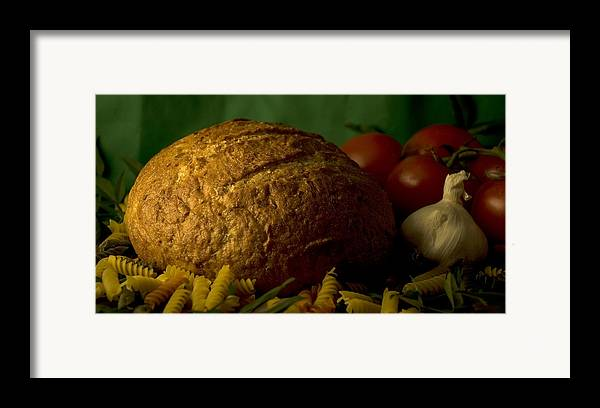 Food Framed Print featuring the photograph Ingredients by Jessica Wakefield