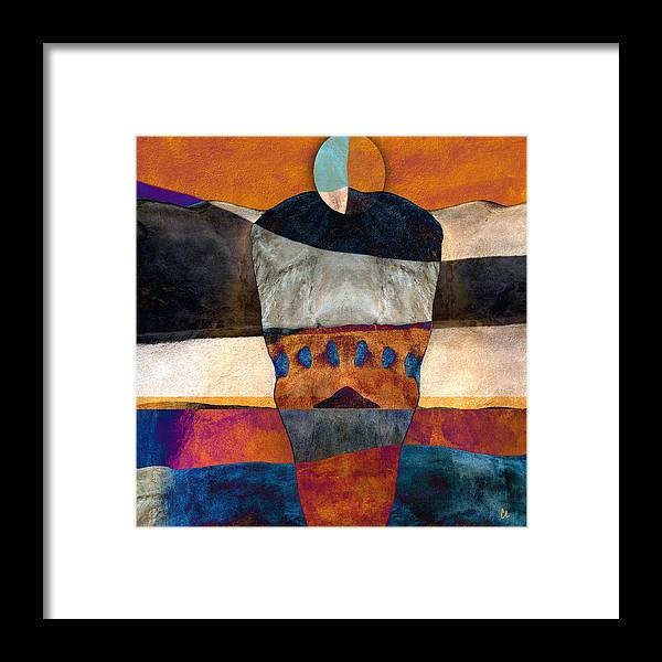 Santa Fe Framed Print featuring the photograph Inherent Number 2 by Carol Leigh