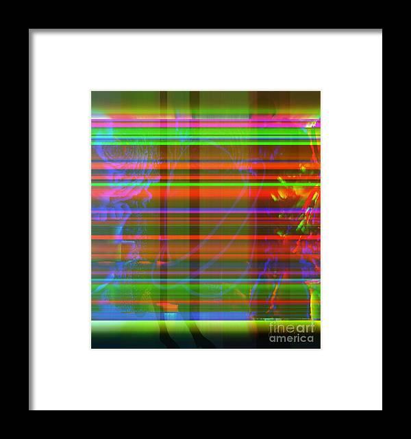 Fania Simon Framed Print featuring the mixed media Initiative Online by Fania Simon