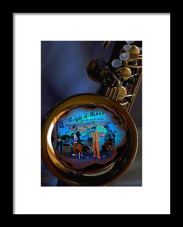 Music Framed Print featuring the photograph Inner City Soul by Linda Kish