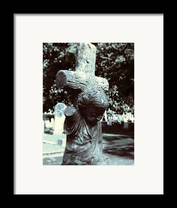 Gothic Framed Print featuring the photograph Innocence by Jessica Burgett