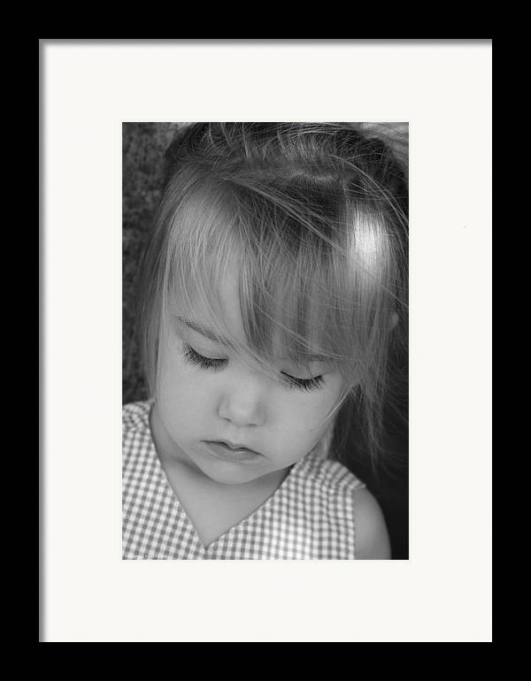 Angelic Framed Print featuring the photograph Innocence by Margie Wildblood
