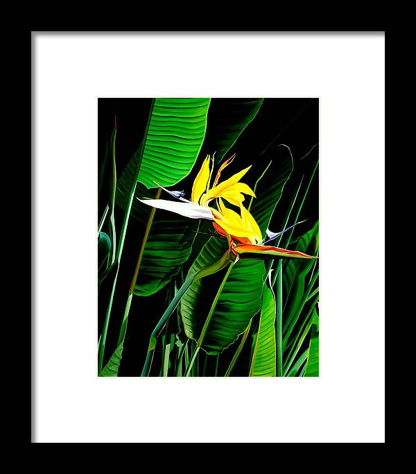 Floral Framed Print featuring the painting Inseparable Love by Sunhee Kim Jung