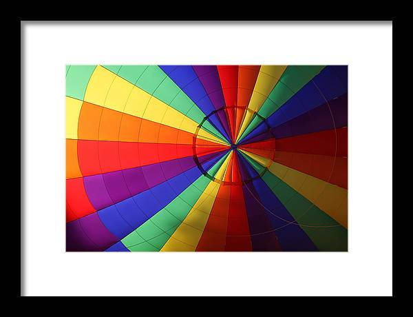 Color Framed Print featuring the photograph Inside Color by Paul Tokarchuk