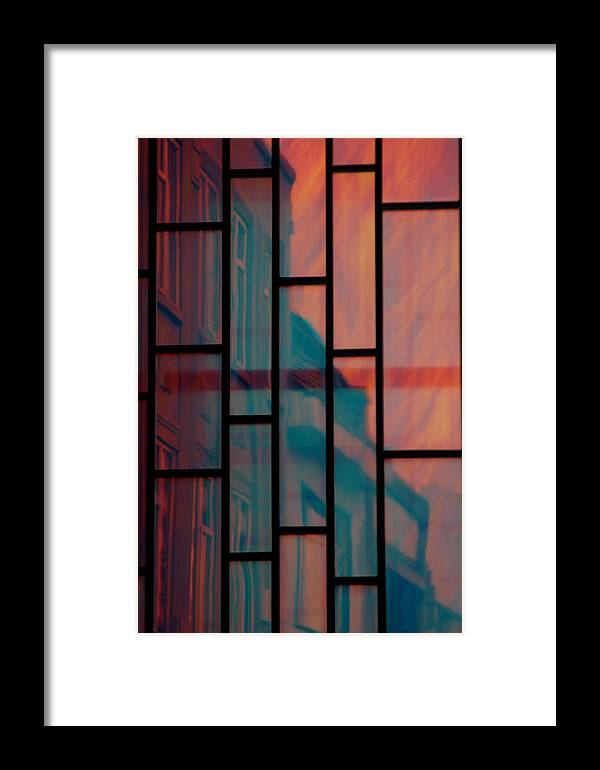 Jez C Self Framed Print featuring the photograph Inside Or Out by Jez C Self