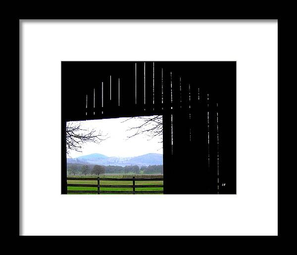 Barn Framed Print featuring the photograph Inside Out by Will Borden