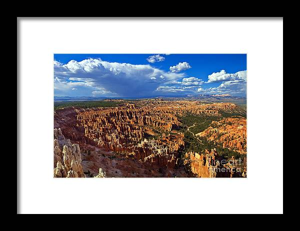 Bryce Canyon Framed Print featuring the photograph Inspiration Afternoon by Greg Clure