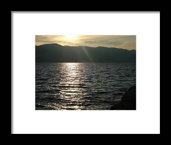 Water Framed Print featuring the photograph Inspiration by De La Rosa Concert Photography